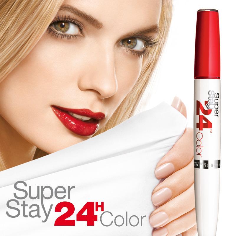 maybelline new york make up lippenstift superstay 24h. Black Bedroom Furniture Sets. Home Design Ideas