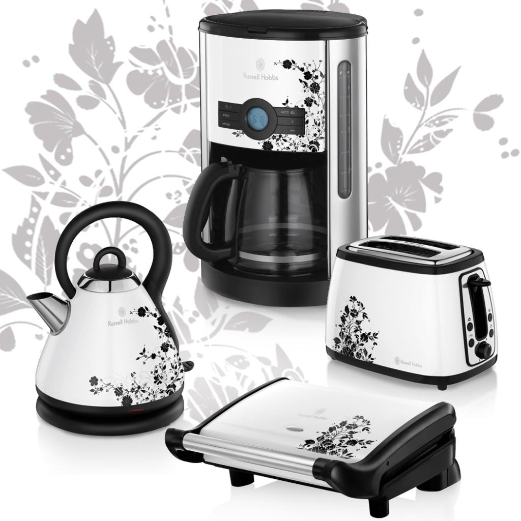 russell hobbs cottage floral 18512 70 wasserkocher abnehmbarer deckel 2300 watt. Black Bedroom Furniture Sets. Home Design Ideas