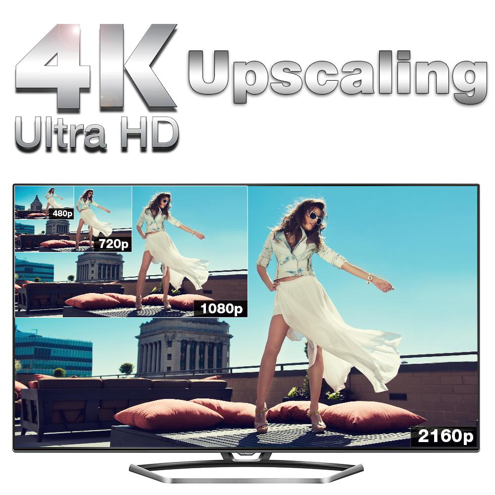 thomson 65uz7866 165 cm 65 zoll fernseher ultra hd triple tuner 3d smart tv. Black Bedroom Furniture Sets. Home Design Ideas