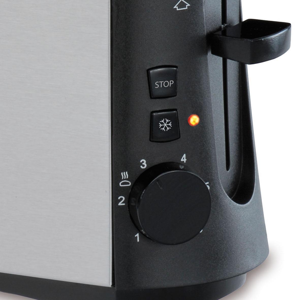 Amazon.de: Cloer 3890 Single-Toaster/Minitoaster für 1 Toastscheibe ...