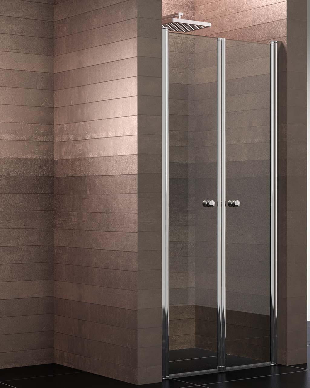 schulte duschkabine pendelt r nische 90x200 cm 6mm glas mit glasversiegelung chrom mincio 1. Black Bedroom Furniture Sets. Home Design Ideas