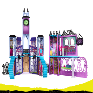 Mattel Monster High Mega Monsterschule
