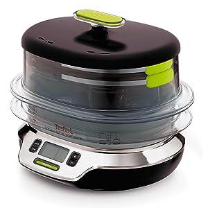 Amazon.de: Tefal VS4003 Dampfgarer VitaCuisine Compact 1800 W
