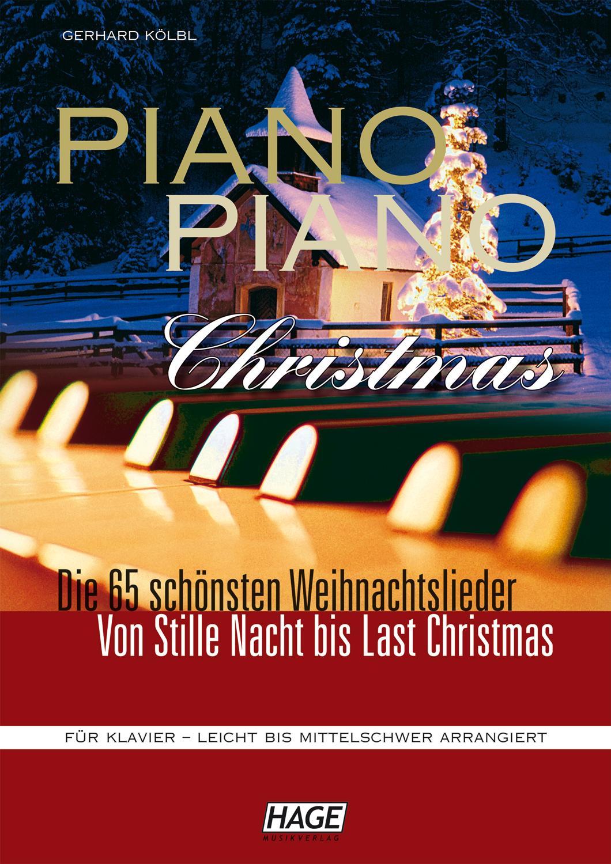 piano piano christmas weihnachtslieder f r klavier. Black Bedroom Furniture Sets. Home Design Ideas