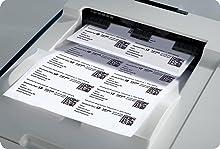 Transparente Adress-Etiketten Inkjet