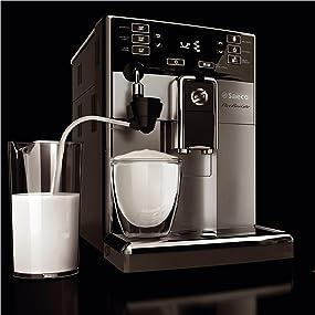 kaffeevollautomat saeco pico baristo type hd8927 ebay. Black Bedroom Furniture Sets. Home Design Ideas