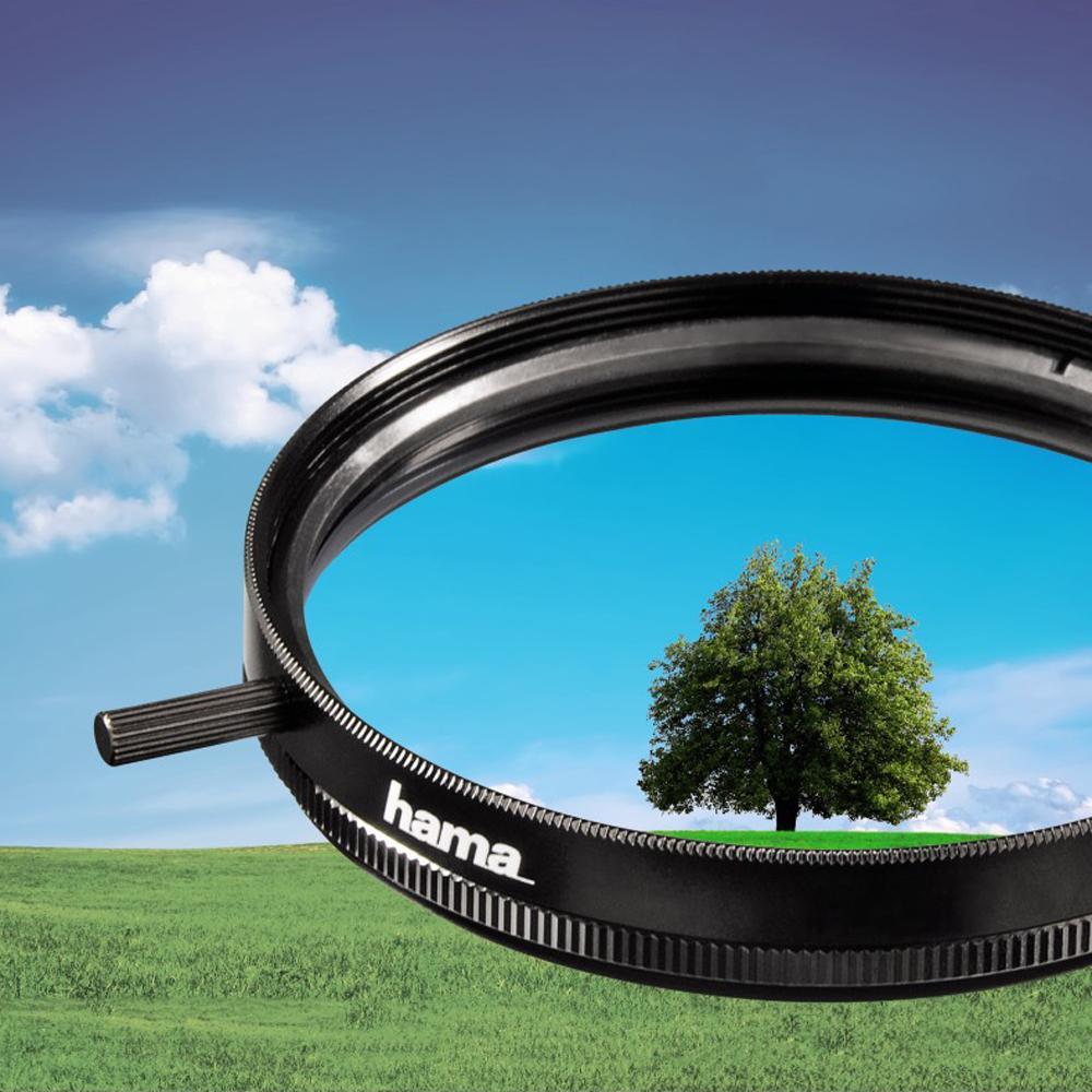 hama polarisations filter kamera. Black Bedroom Furniture Sets. Home Design Ideas