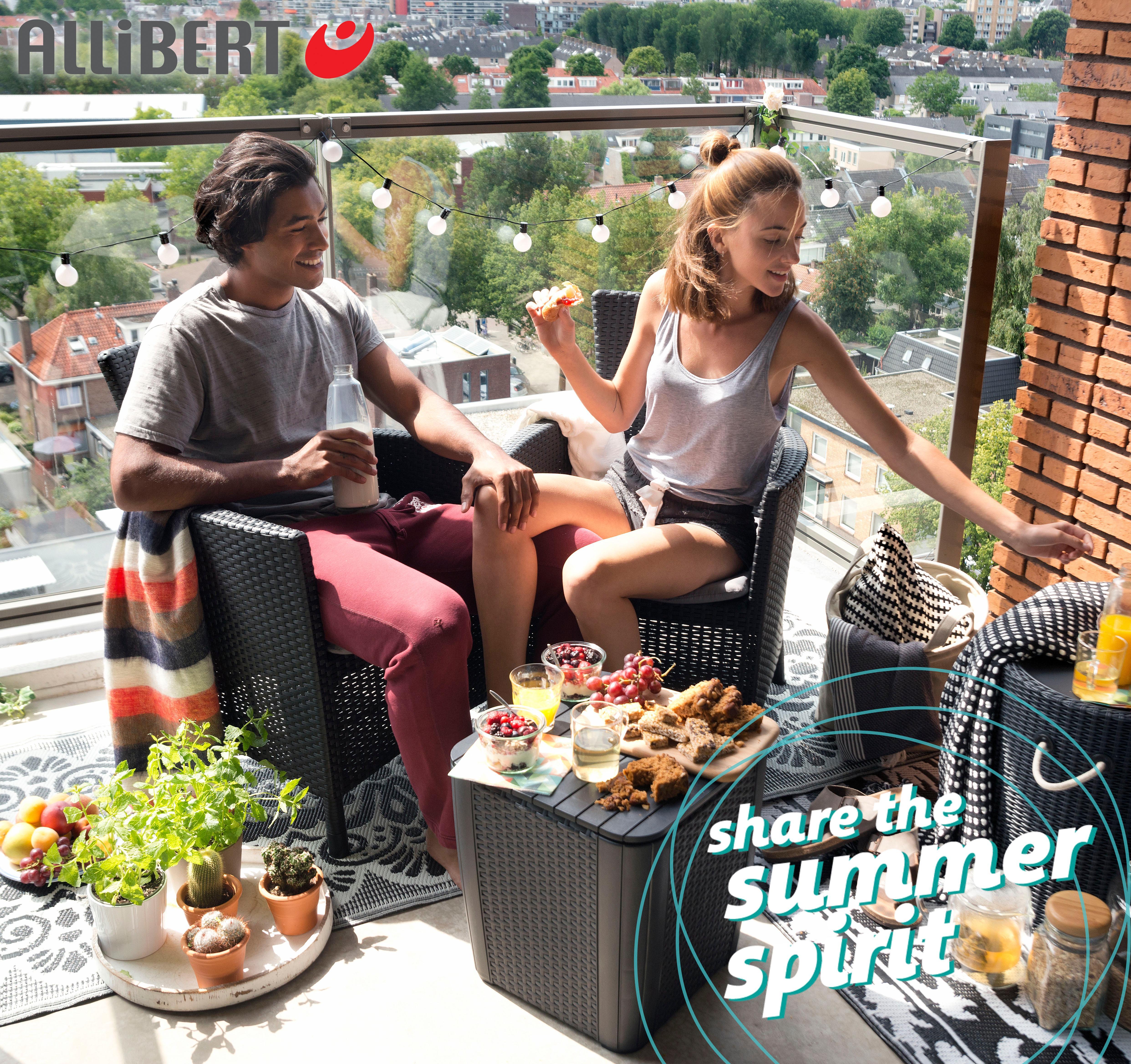 Frisch Allibert Lounge Set Merano Schema