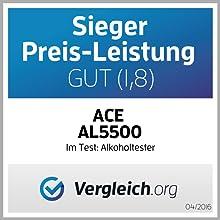 Ace Al5500 Digitaler Alkoholtester Mit Halbleitersensor Auto