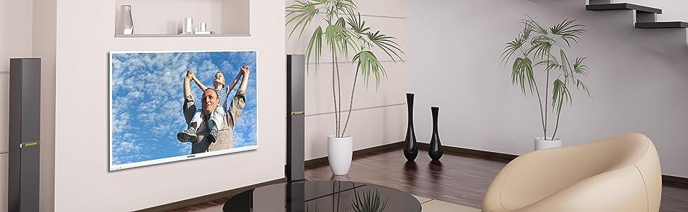 telefunken xf43a101 w 110 cm 43 zoll fernseher full hd triple tuner wei. Black Bedroom Furniture Sets. Home Design Ideas