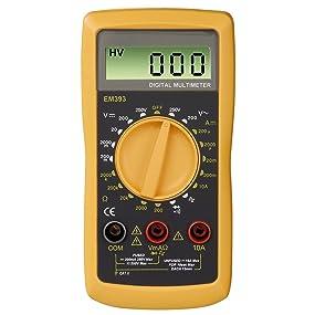 Für Hobbybastler und -Elektriker: Digitalmultimeter EM393