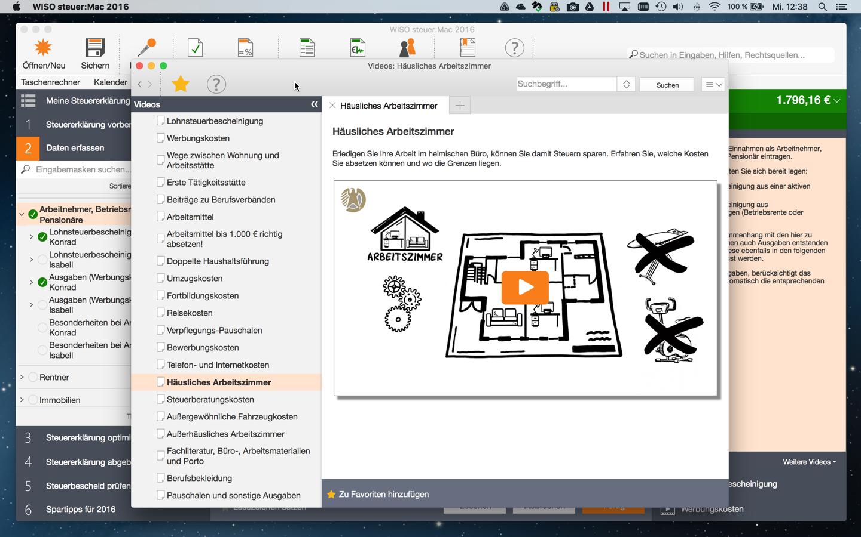 wiso steuer mac 2016 mac download software. Black Bedroom Furniture Sets. Home Design Ideas