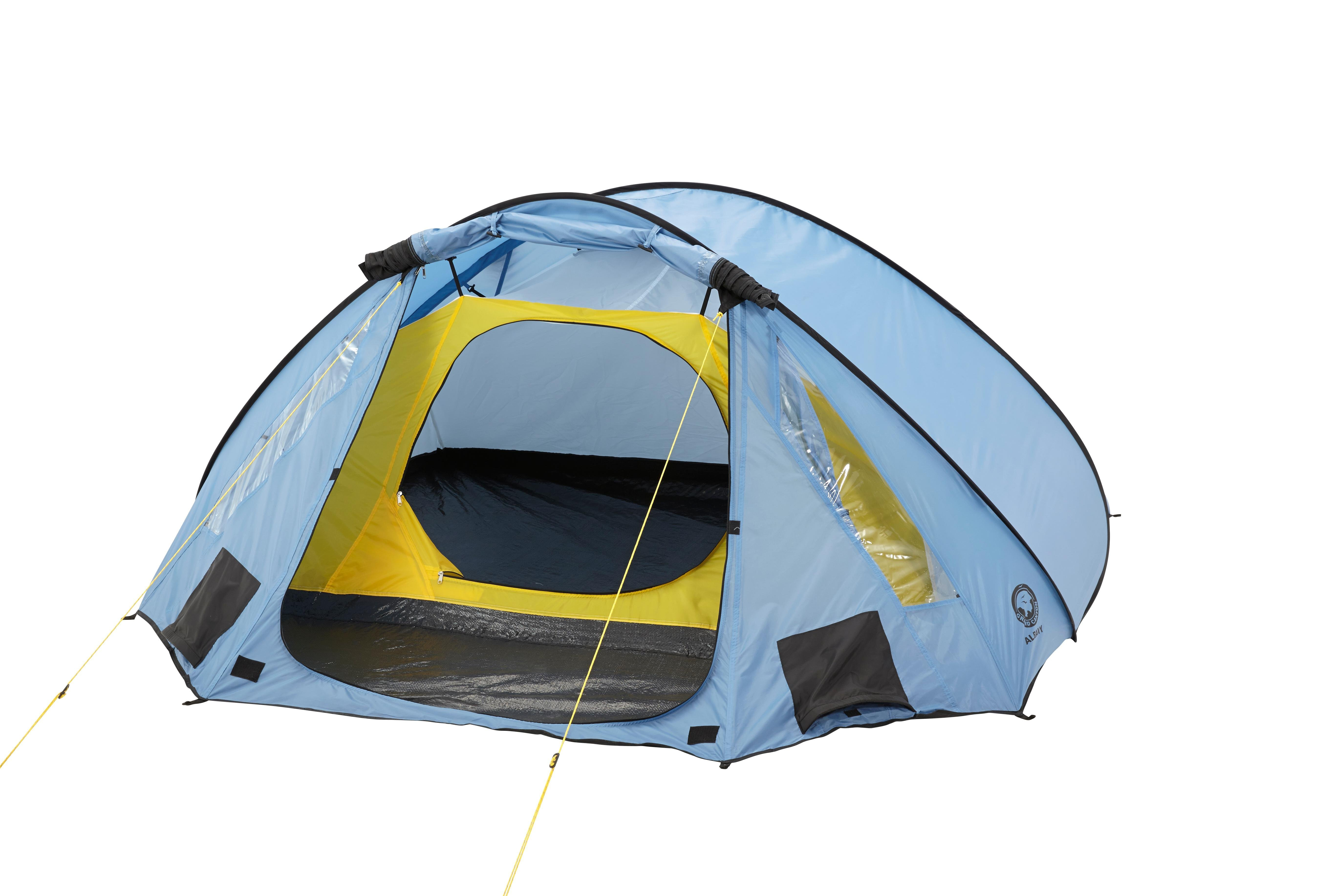 grand canyon albany 2 wurfzelt 2 3 personen zelt blau schwarz 302200 sport. Black Bedroom Furniture Sets. Home Design Ideas