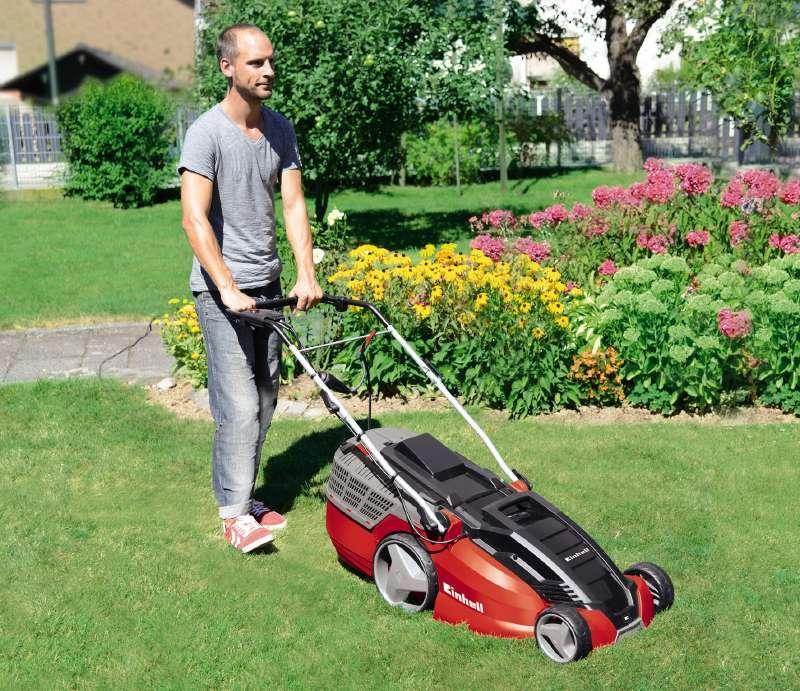 Einhell 3400182 HW M Elektrischer Rasenmäher 1800 W, 230
