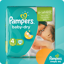 Pampers Windeln Simply Dry