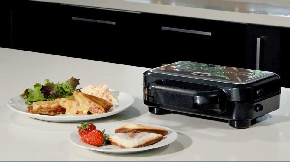 breville vst041x sandwichmaker sandwichtoaster mit extra tiefen grillplatten. Black Bedroom Furniture Sets. Home Design Ideas