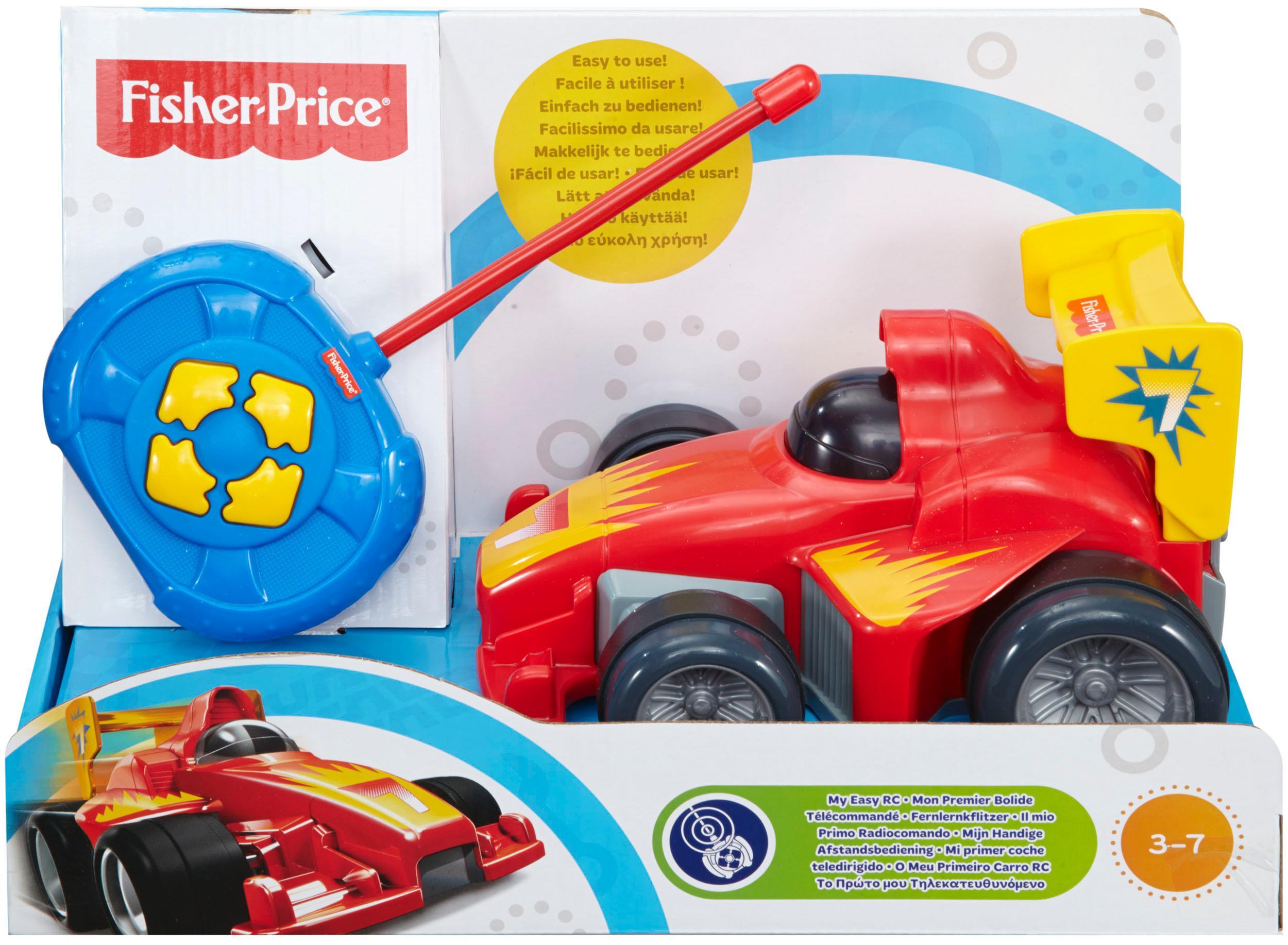 Elektrisches Spielzeug Mattel BHX87 Fisher Price Fernlenkflitzer