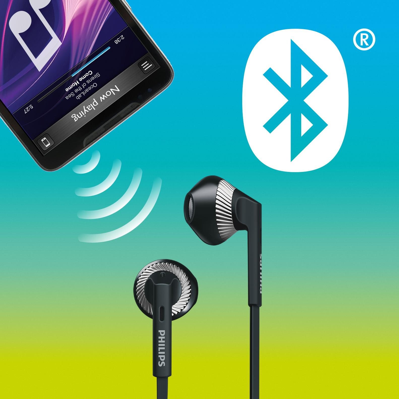 philips shb 5250bk in ear bluetooth kopfh rer mit amazon. Black Bedroom Furniture Sets. Home Design Ideas
