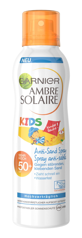 Garnier Ambre Solaire Kids Sensitive Expert Anti Sand Spray Lsf 50