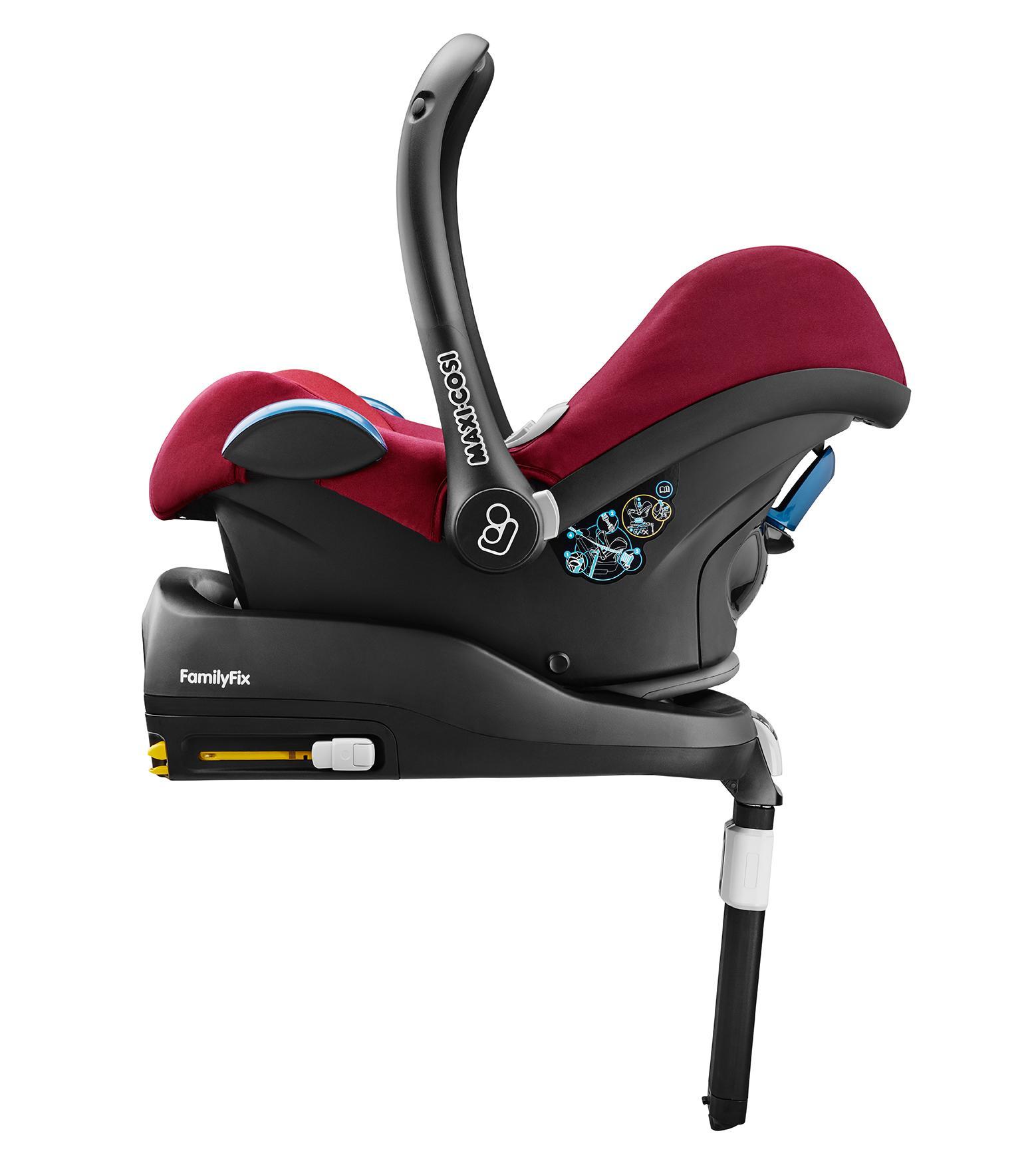 maxi cosi babyschale cabriofix extraleicht nutzung im auto in kombination mit allen maxi cosi. Black Bedroom Furniture Sets. Home Design Ideas