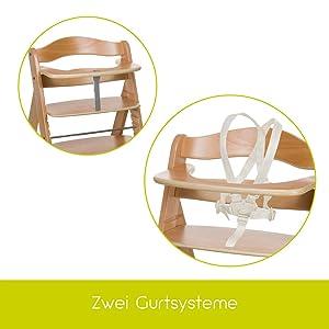 hauck 661079 hochstuhl alpha natur baby. Black Bedroom Furniture Sets. Home Design Ideas
