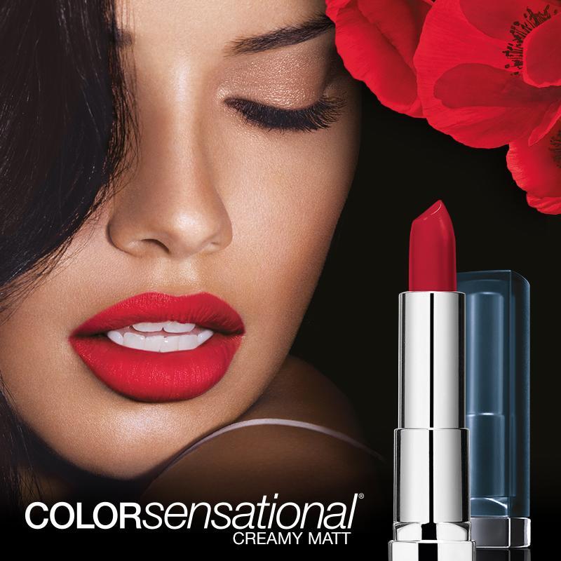 Maybelline New York Make-Up Lippenstift Color Sensational -7646