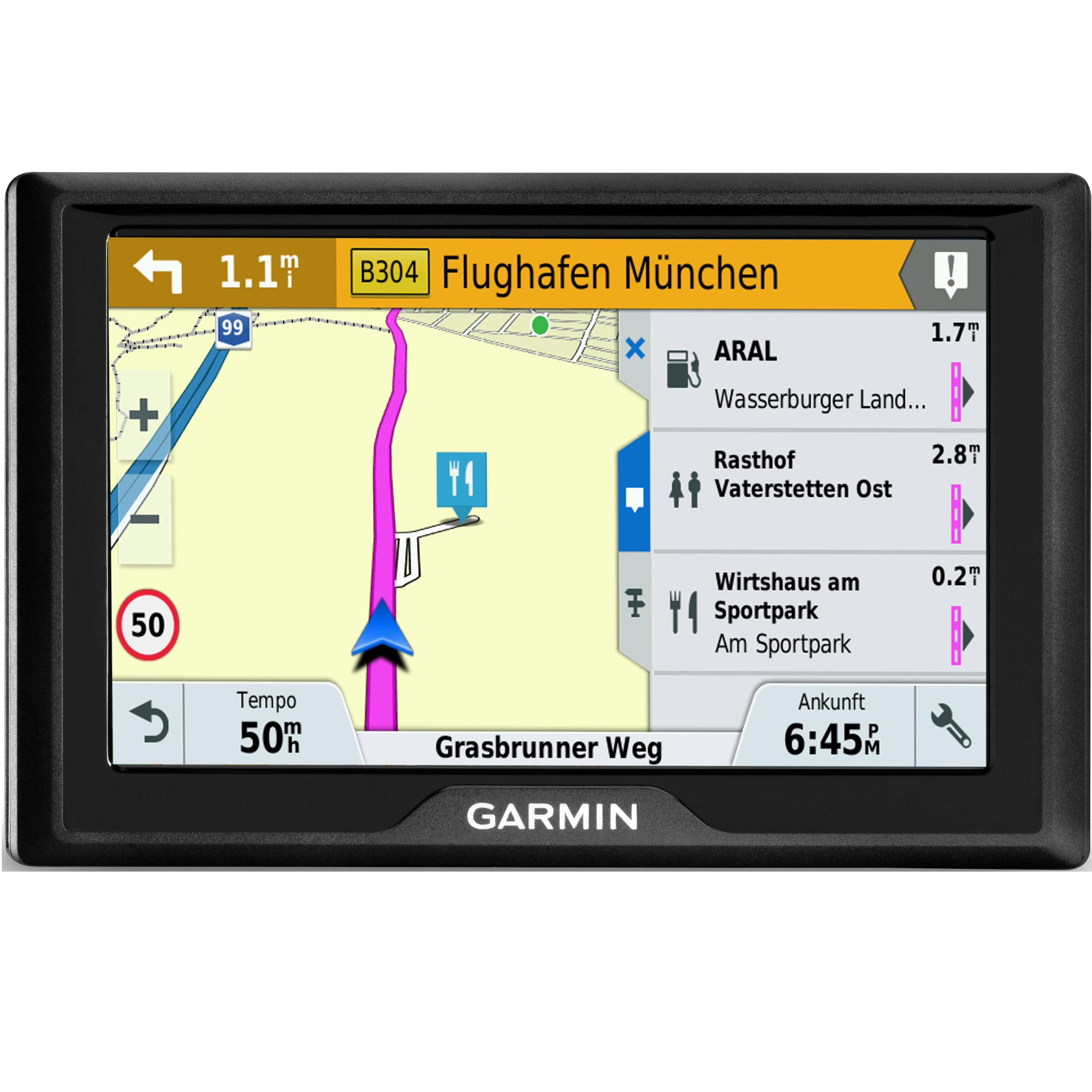 how to charge a garmin drive 50