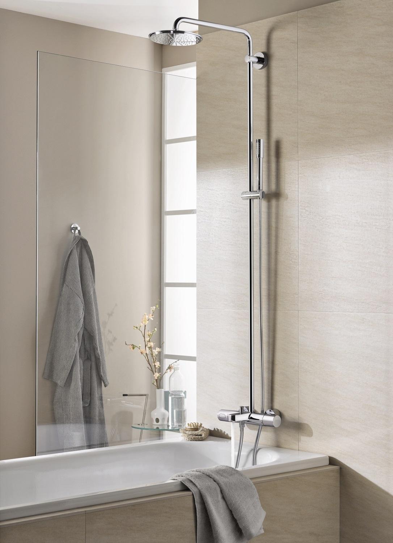 grohe rainshower 27641000 210 mit sena handbrause f r badewannen best baumarkt. Black Bedroom Furniture Sets. Home Design Ideas