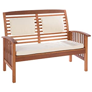 Amazon.de: Ultranatura Loungebank 2-Sitzer, Canberra Serie