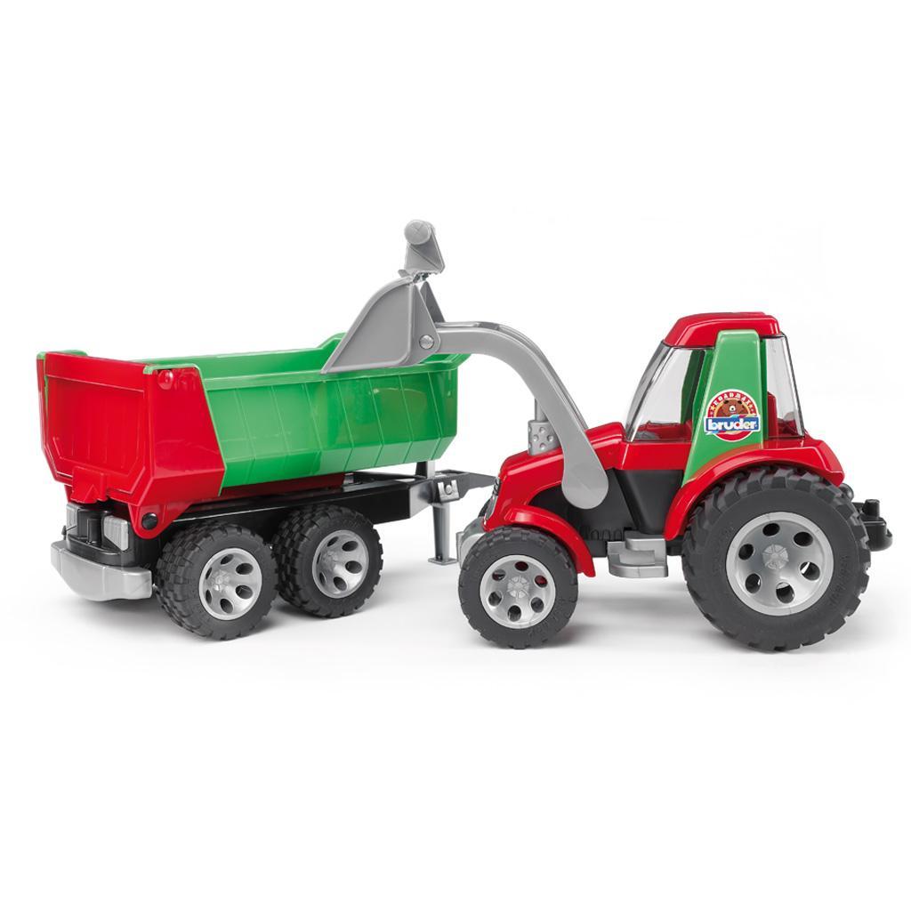 bruder 20116 roadmax traktor mit frontlader und. Black Bedroom Furniture Sets. Home Design Ideas