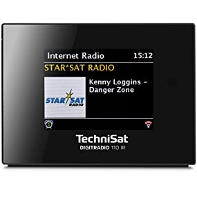 technisat digitradio 110 ir dab radio und internetradio. Black Bedroom Furniture Sets. Home Design Ideas
