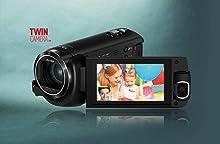 Super Zoom Full HD-Camcorder im kleinen Format