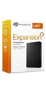 Seagate Expansion Portable Drive 2 GB