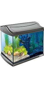 Tetra AquaArt LED Aquarium-Komplett-Set 20L Anthrazit