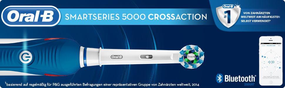 Oral-B SmartSeries 5000 elektrische Zahnbürste, mit Timer