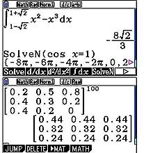 Natürliche Darstellung mathematischer Funktionen