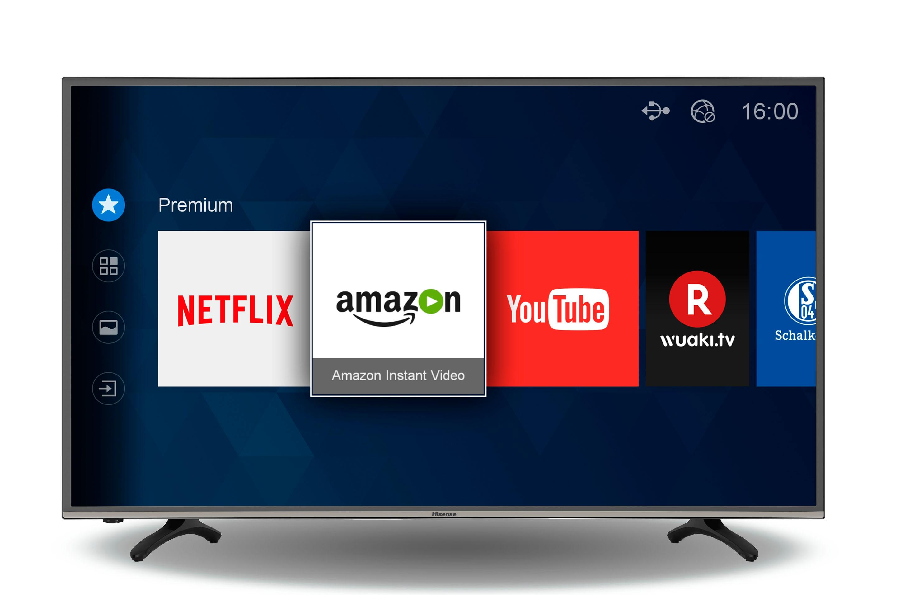 how to get netflix app on hisense smart tv