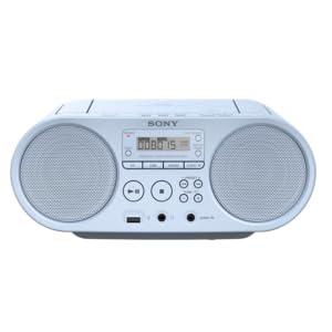 Sony Zsp S50 Cd Usb Radiorekorder Am Fm Hellblau Audio Hifi