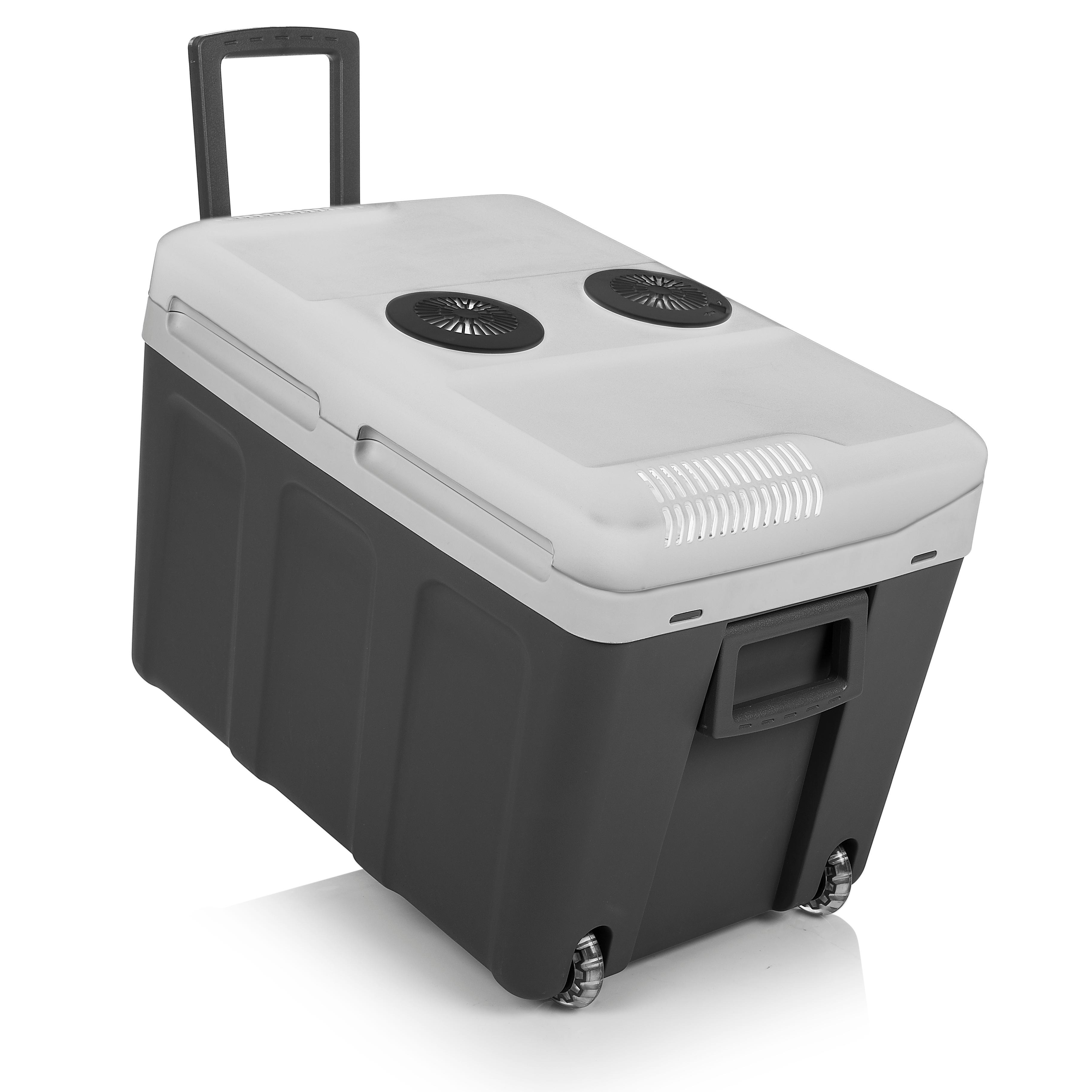 tristar kb 7540 k hlbox mit bequemem trolley fassungsverm gen 40 liter auto. Black Bedroom Furniture Sets. Home Design Ideas