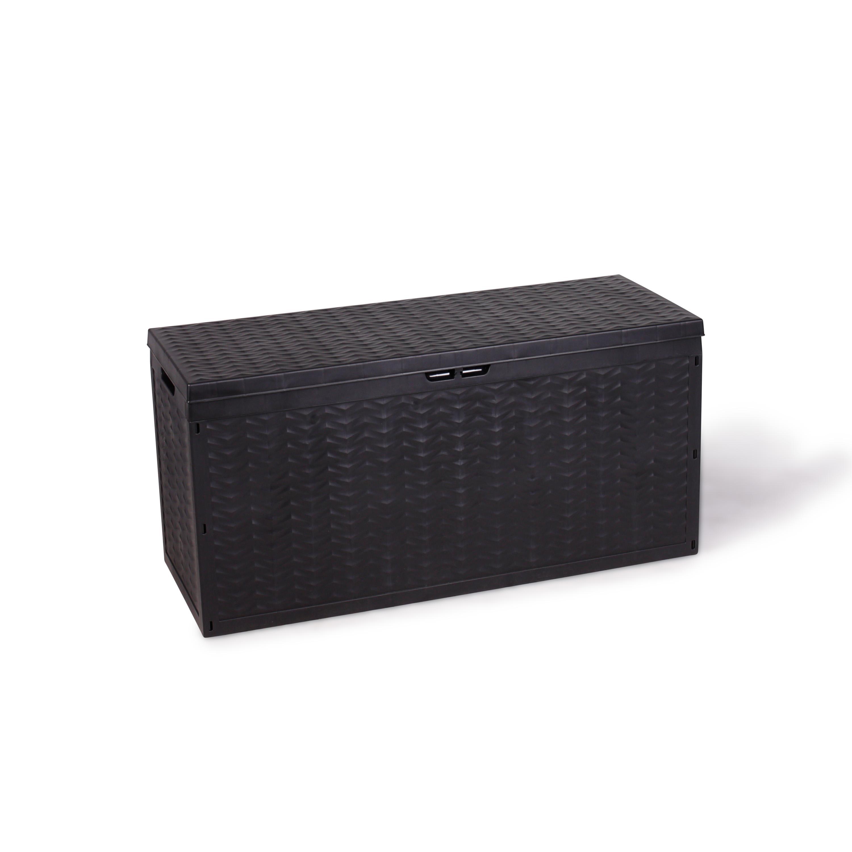 vanage aufbewahrunsgboxen auflagen kissen aufbewahrungsbox cargo circa anthrazit 120 x 45 x. Black Bedroom Furniture Sets. Home Design Ideas