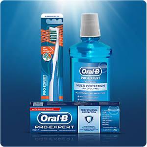 Oral-B Pro-Expert CrossAction Anti-Plaque Handzahnbürste