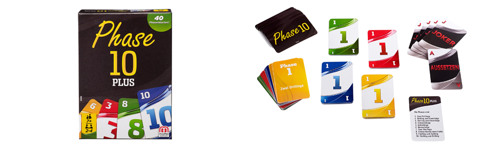 Phase 10 Plus Anleitung