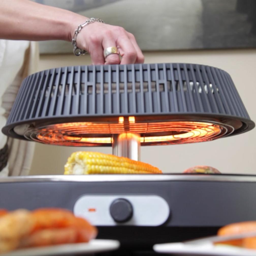 ultratec infrarette infrarot grill gesundes grillen ohne l weltneuheit k che. Black Bedroom Furniture Sets. Home Design Ideas