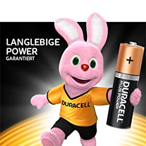 Duracell Plus Power Typ C Alkaline Batterien 6er Pack Elektronik
