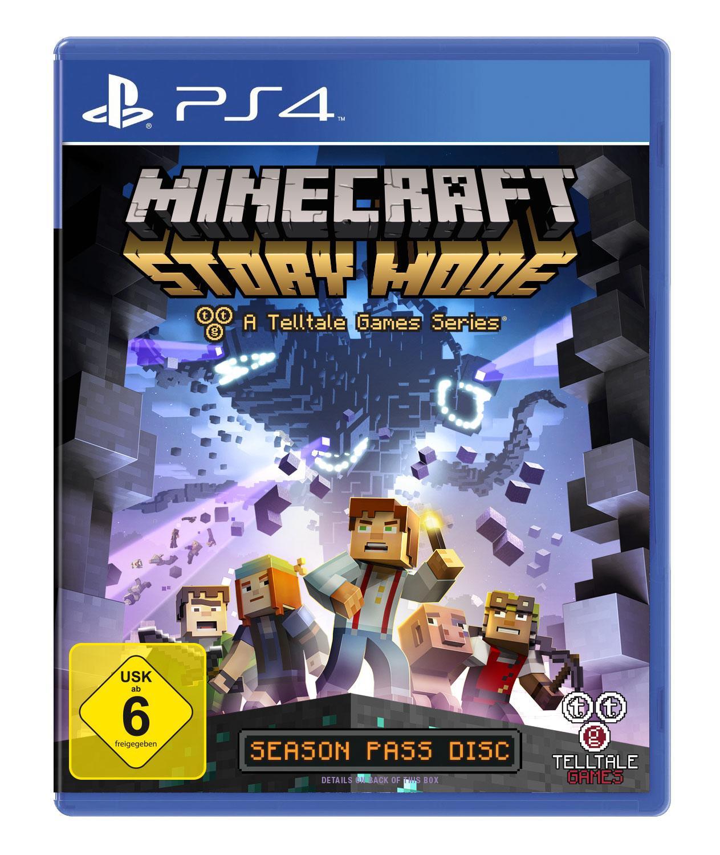 Minecraft Story Mode PlayStation Amazonde Games - Pc sturzt beim minecraft spielen ab