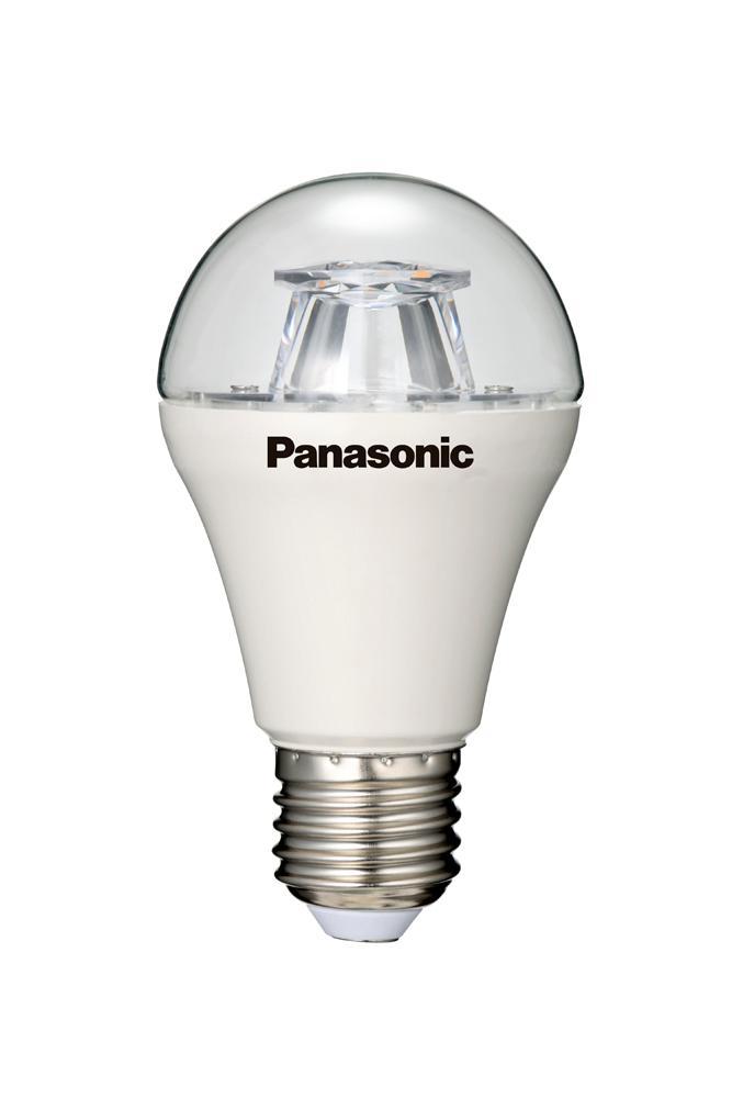 panasonic led lampe 10w ersetzt 60 watt e27 warmwei 2700 kelvin 806 lumen klar 15000. Black Bedroom Furniture Sets. Home Design Ideas