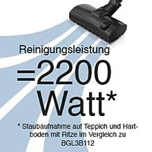 Amazon.de: Bosch BGL3B112 Bodenstaubsauger GL-30, EEK B
