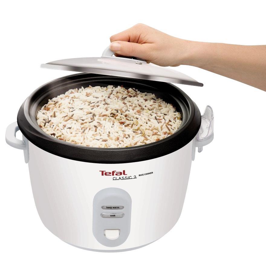 Amazon.de: Tefal RK1011 Reiskocher mit Dampfgareinsatz, weiß