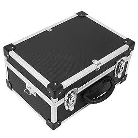 alukoffer werkzeugkiste werkzeugkoffer werkzeugbox alu koffer varo tragegurt baumarkt. Black Bedroom Furniture Sets. Home Design Ideas