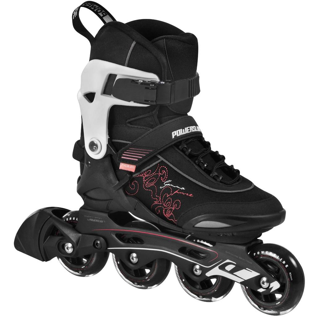 powerslide damen inline skate gamma inliner gr sse 41 ebay. Black Bedroom Furniture Sets. Home Design Ideas